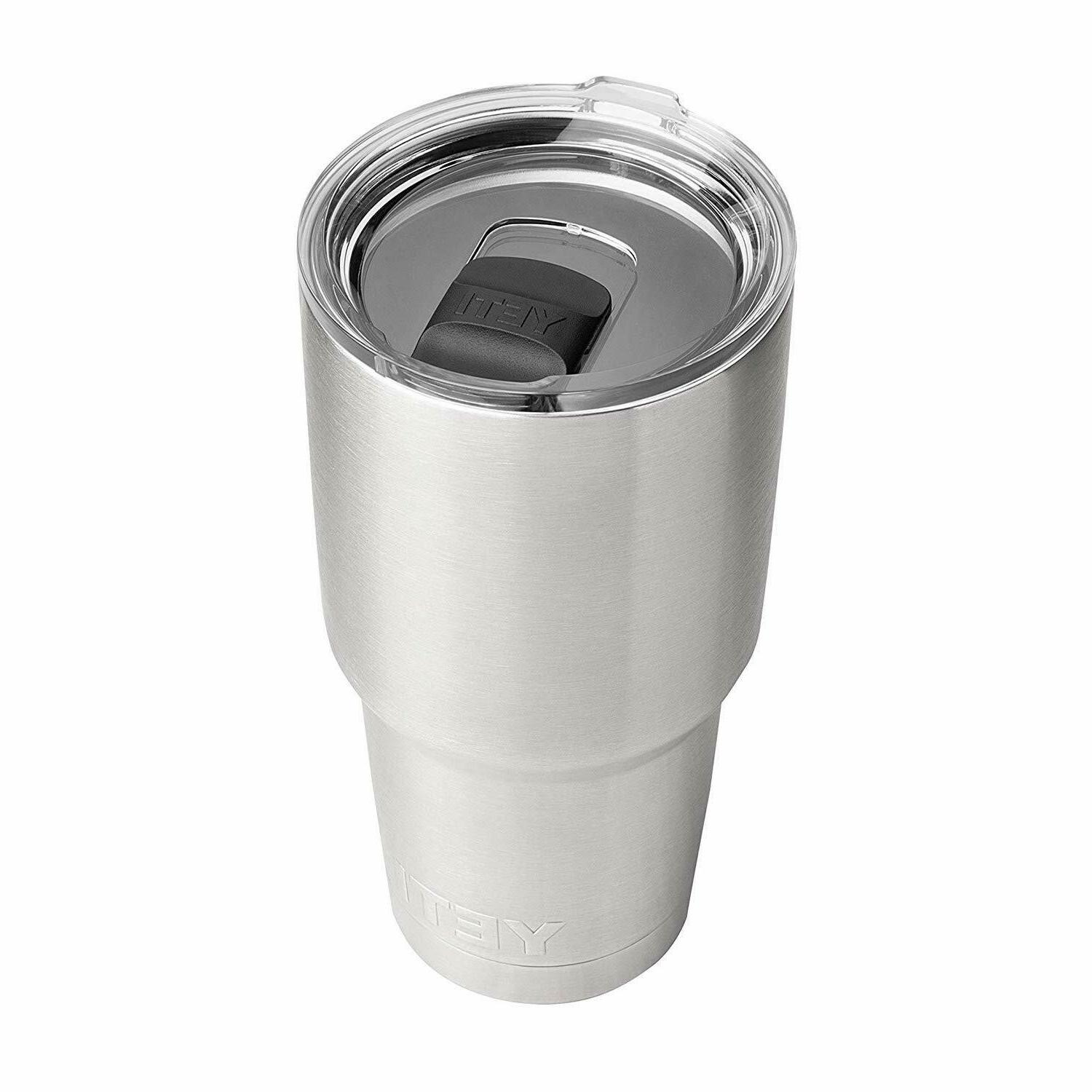 rambler 30 oz stainless steel vacuum insulated