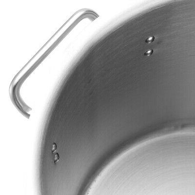 Safe Stainless Stock Pot Soup Cookware with Lid