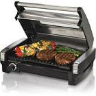 Hamilton Beach Searing Grill with Lid Viewing Window Electri