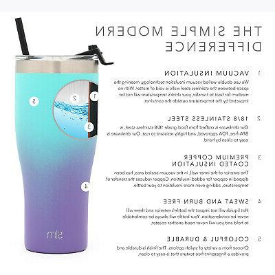 Simple Modern Tumbler Lid & Straw Cup Travel Mug