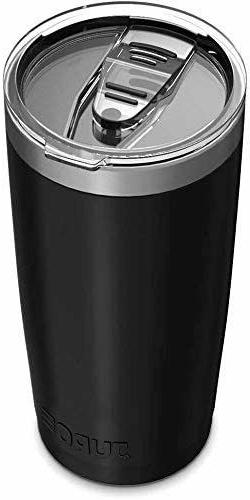Stainless Tumbler with Lids and Straw Travel Mug