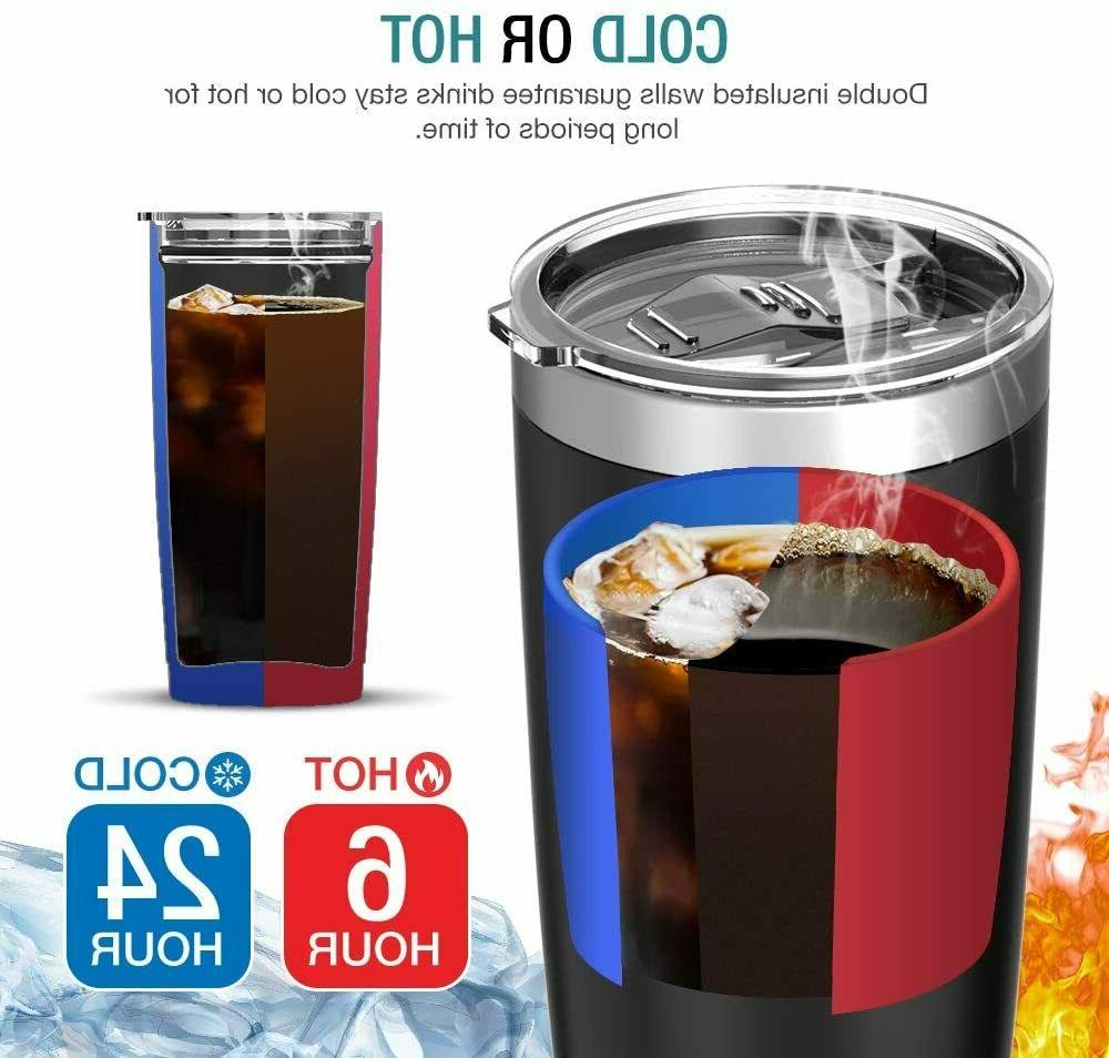 Stainless Vacuum Insulated Straw oz Travel