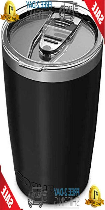 stainless steel vacuum insulated tumbler with lids