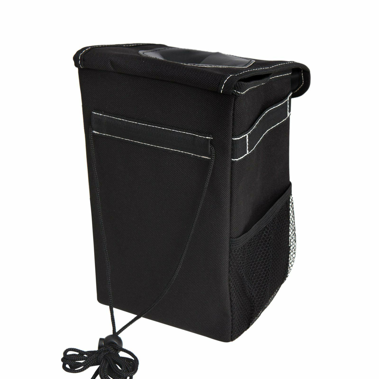 Stash Away Can With Storage Pockets Vehicle Pouch