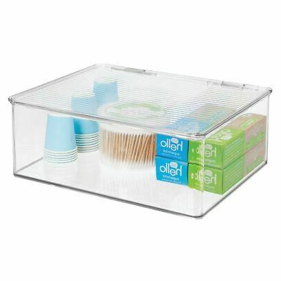 mDesign Storage Bin with Lid for -