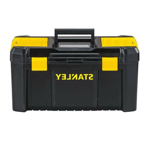 STANLEY TOOL BOX 19 In Portable Essential Tools Parts Storag