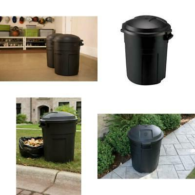 trash can with lid 20 gal round