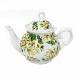 Lavender Field Teapot with Lid