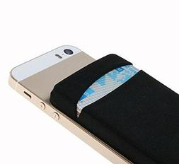 New Phone iphone back Card Holder Stick Sticker Wallet Case