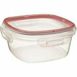 Rubbermaid Lock-Its with Easy Find Lid Square Container + Li
