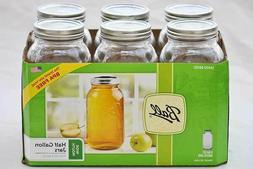 🔥Ball Mason Jar With Lid & Band Durable, Wide Mouth, 64 O