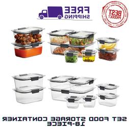 NEW Rubbermaid Brilliance Food Storage Containers With Airti