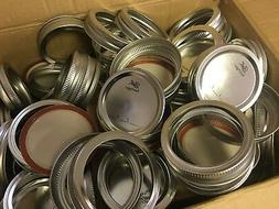 NEW Ball Mason Canning Jar Ring Band Lids - Regular-Mouth -