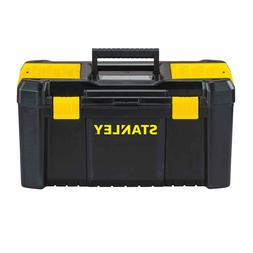 New Portable Stanley 19 INCH Power Latch Storage Toolbox Wit