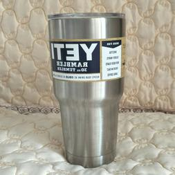 New Yeti Rambler Tumbler 30oz Stainless Steel Tumbler with L