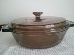 Anchor Hocking Ovenware Casserole Dish 1.5 Qt with LID