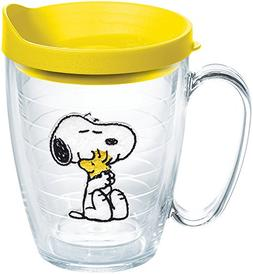 Tervis 1140866 Peanuts - Felt Tumbler with Emblem and Yellow
