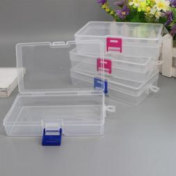 Plastic Storage Box With Lid Container Organizer Use Case Co