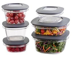 Rubbermaid Premier Easy Find Lids Food Storage Containers, G