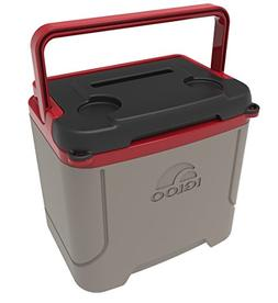 Igloo Profile 16 Quart Cooler, Sandstone/Blaze Red, 16 Qt /