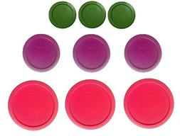Pyrex Replacement Lids for 18-piece set  Lids Only
