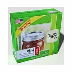 Ball Regular Mouth Size Canning or Mason Jar Lids, 8 dozen B