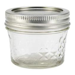 Ball Regular Mouth Quilted Crystal Jelly Jars with Lids and