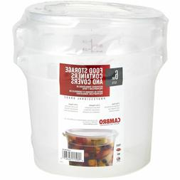 Cambro Round Translucent Container with Lid