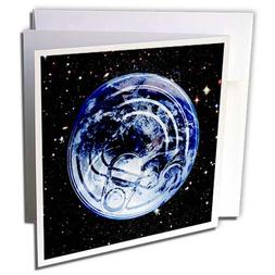 3dRose Russ Billington Designs - Planet Earth Tin Can Image-
