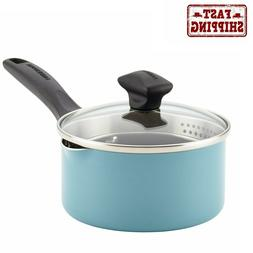 small saucepan with lid pour spout nonstick