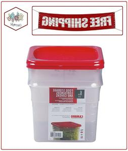 Cambro Square Translucent Container with Lid
