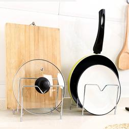 Stand Stainless Steel Pan Organizer Pot Rack <font><b>Cookwa