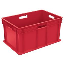"Straight Wall Container  Color: Red, Size: 12.25"" H x 15.75"""
