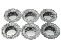Tea Light Candle Holder Metal Lid Inserts for Regular Mouth