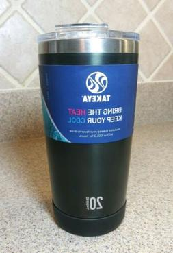Thermo Tumbler Insulated with flip lid Cup TAKEYA 20 Black