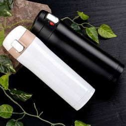 Thermos Coffee Travel Mug Tea Stainless Steel Vacuum Flask W