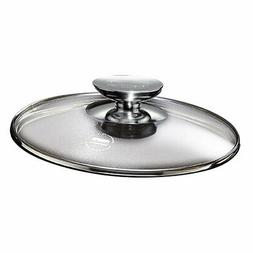 Tricion 13 Glass Lid with Stainless Lid Knob