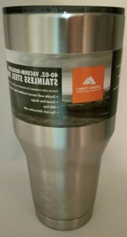 Ozark Trail Vacuum Insulated Stainless Steel Tumbler with li