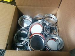 Ball Wide Mouth Lids and Bands 100 each for Mason Jars - NEW